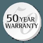 Logo Garantie 50 ans EN