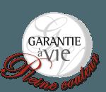 Garantie à vie Pleine couleur