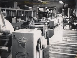 1975 – Beginning of the production of aluminum siding